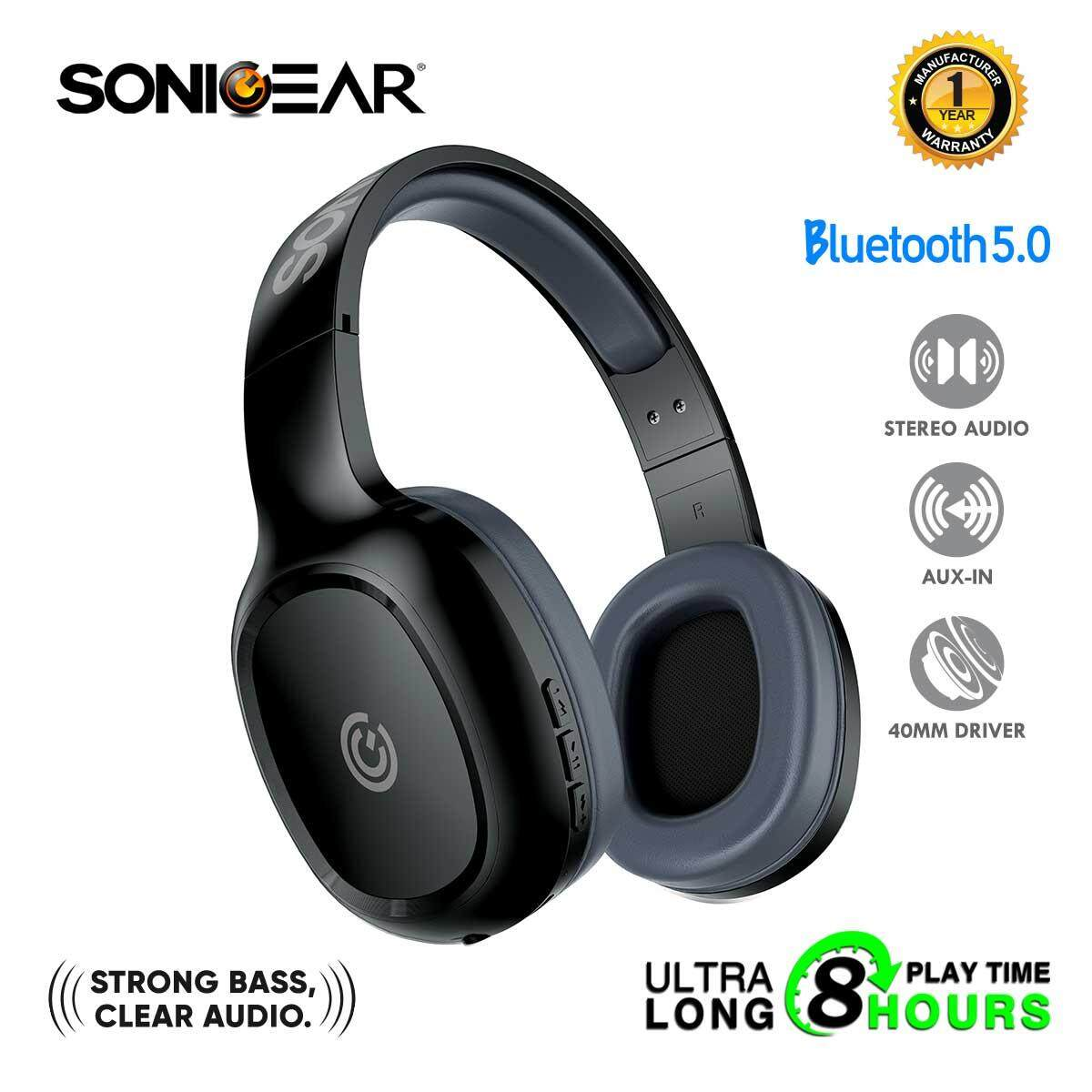 3a75adfd20f SonicGear AirPhone 3 Bluetooth Headphones With Mic For Smartphones and  Tablets