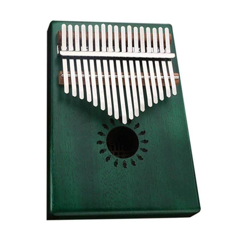 OSMAN Ngón Tay Cái Đàn Piano 17-Chìa Khóa Kalimba Gỗ Gụ Veneer Di Động Nhạc Cụ Quà Tặng