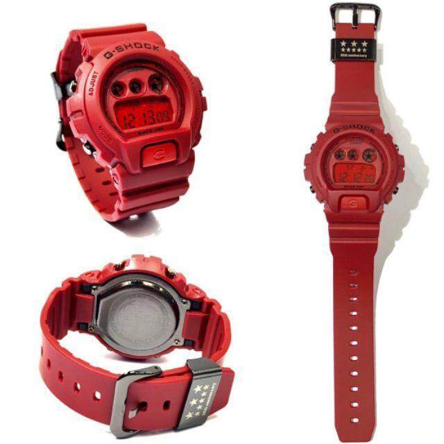 G Style Shock Dw6900 Red Out 35th Anniversary Malaysia