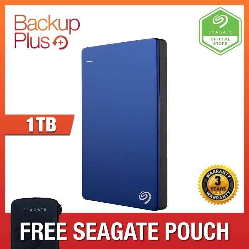 Seagate 1TB Backup Plus Slim Portable Hard Drive USB 3 0