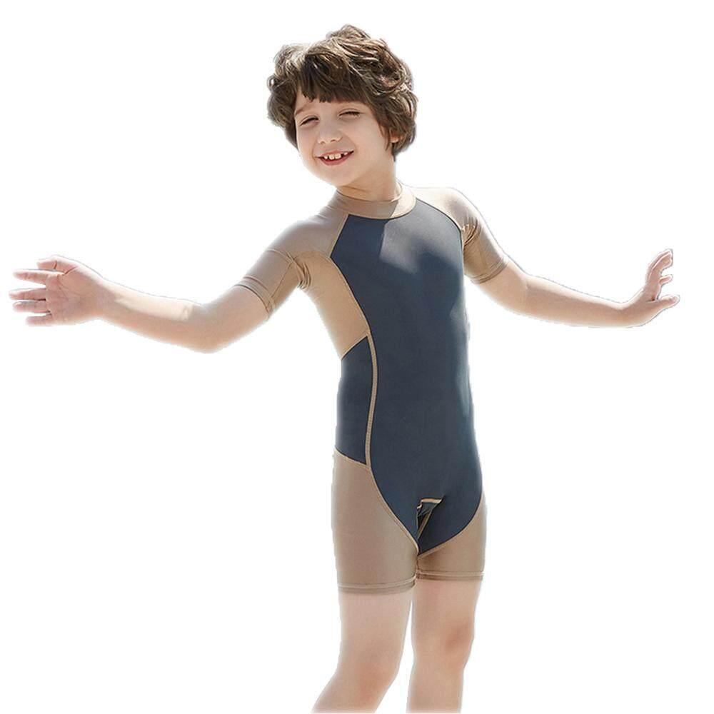 Giá bán [[Lightnice] Trẻ Em Đầm Tay Ngắn Đồ Bơi