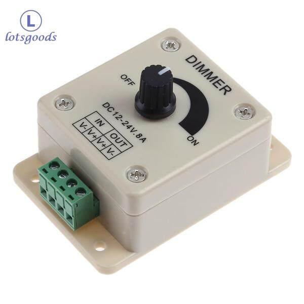 Công tắc điều chỉnh độ sáng đèn LED có điện áp 12-24V 8A [miễn phí vận chuyển] - intl