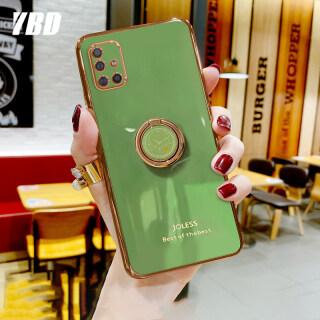 YBD Ốp Bảo Vệ Máy Ảnh Chính Xác Ốp Cho Samsung Galaxy A51 A71 A31, Ốp Chống Rơi Mạ Phong Cách Nữ Tính, Với Giá Đỡ Điện Thoại Đồng Hồ Sáng Tạo thumbnail