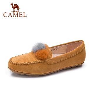 Giày Lười Camel Đế Mềm Cho Nữ, Giày Mùa Thu Đế Bệt Có Nơ thumbnail