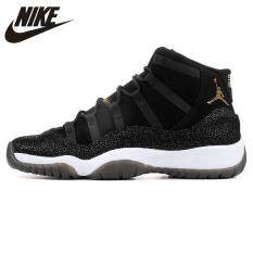 NIKE_AIR_JORDAN 11 PRM AJ11 men's Basketball Shoes Shock Absorption Non slip Balance Abrasion Resistance 852625 030