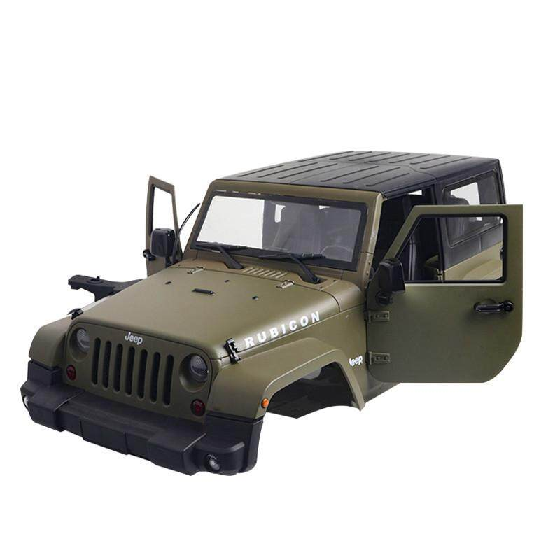 Qimiao 1/10 Rc Truck Hard Body Shell Canopy Rubicon Topless For Scx10/d90 By Qimiao Store.