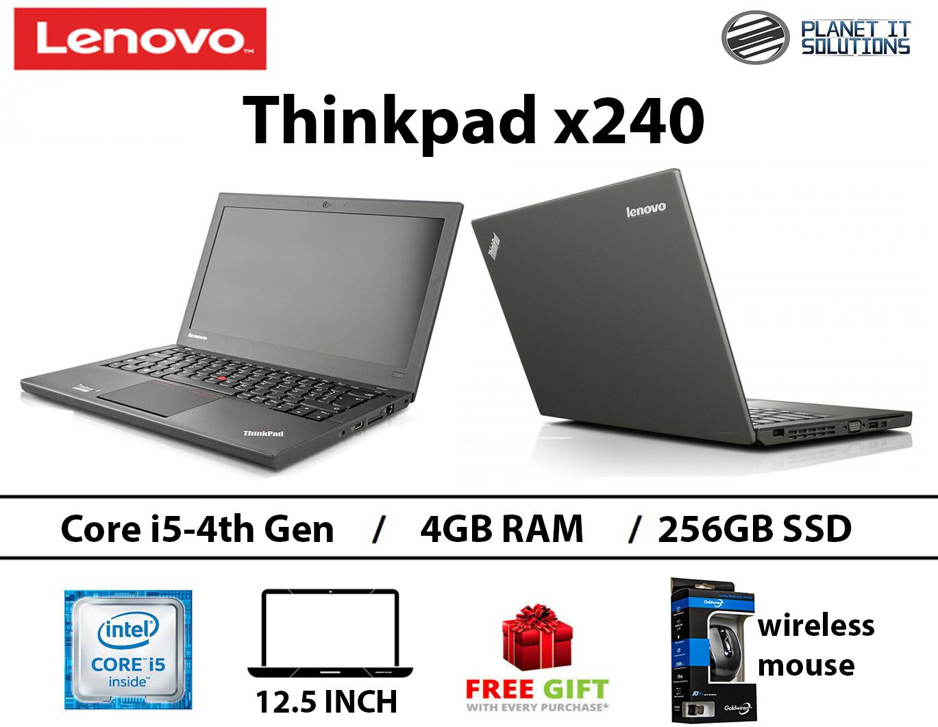 LENOVO X240 i5-4TH GEN-4GB RAM -256GB SSD-12.5 INCH Malaysia