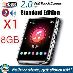 Máy nghe nhạc MP3 MP4 BENJIE X1 màm hình cảm ứng cầm tay nhỏ gọn máy nghe nhạc viddeo có loa đài FM ghi âm E-book – INTL
