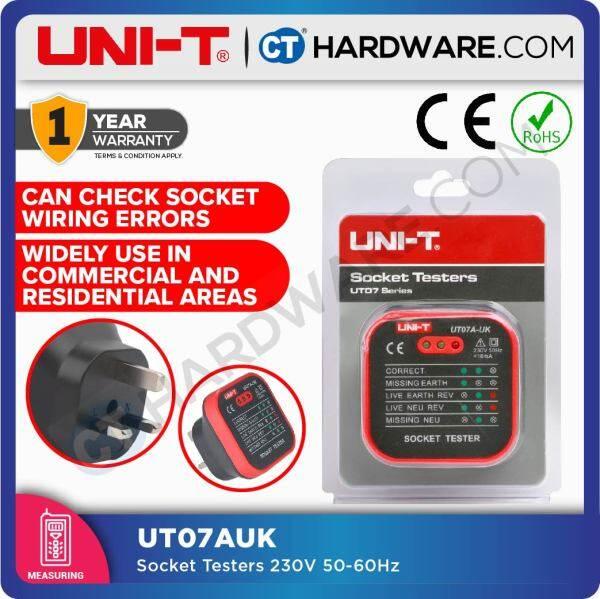 UNI-T UT07AUK 18 AMP SOCKET TESTER