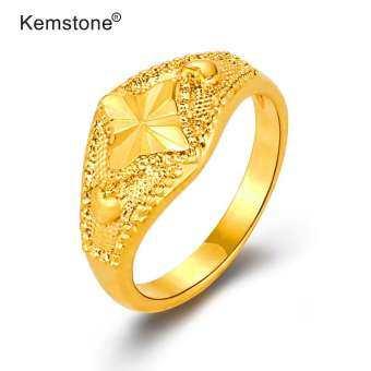 Kemstone แฟชั่นใหม่ผู้หญิงแหวนอัญมณีของขวัญ-