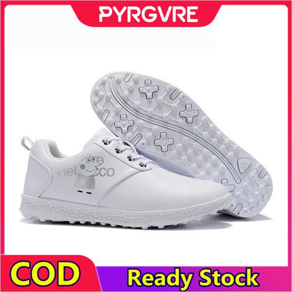 Giày Chơi Golf PYRGVRE Cho Nữ, Giày Tập Luyện Thể Thao Chống Thấm Nước, Mềm Mại, Thoải Mái, Chống Trượt giá rẻ