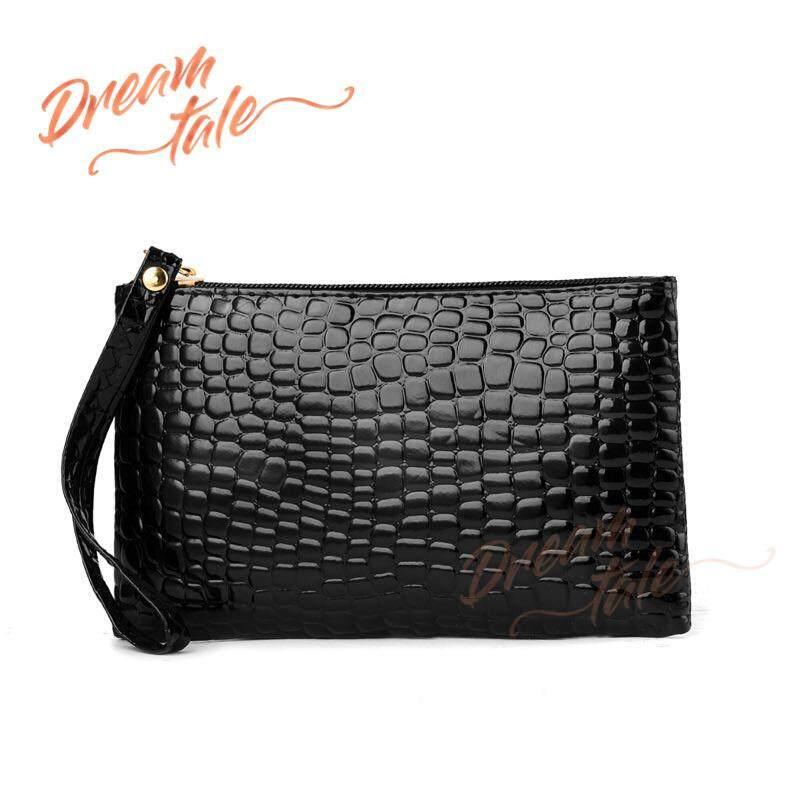 e553ccc7bd3d Dreamtale Women Wallet Crocodile Skin Design Wristlet Wallet WFS137