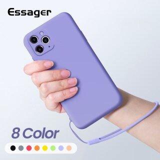 Ốp Silicon Chất Lỏng Cao Cấp Essenger Dành Cho iPhone 11 Pro Xs Max X 8 7 6 6S Plus SE 2020 Ốp Lưng TPU Mềm thumbnail