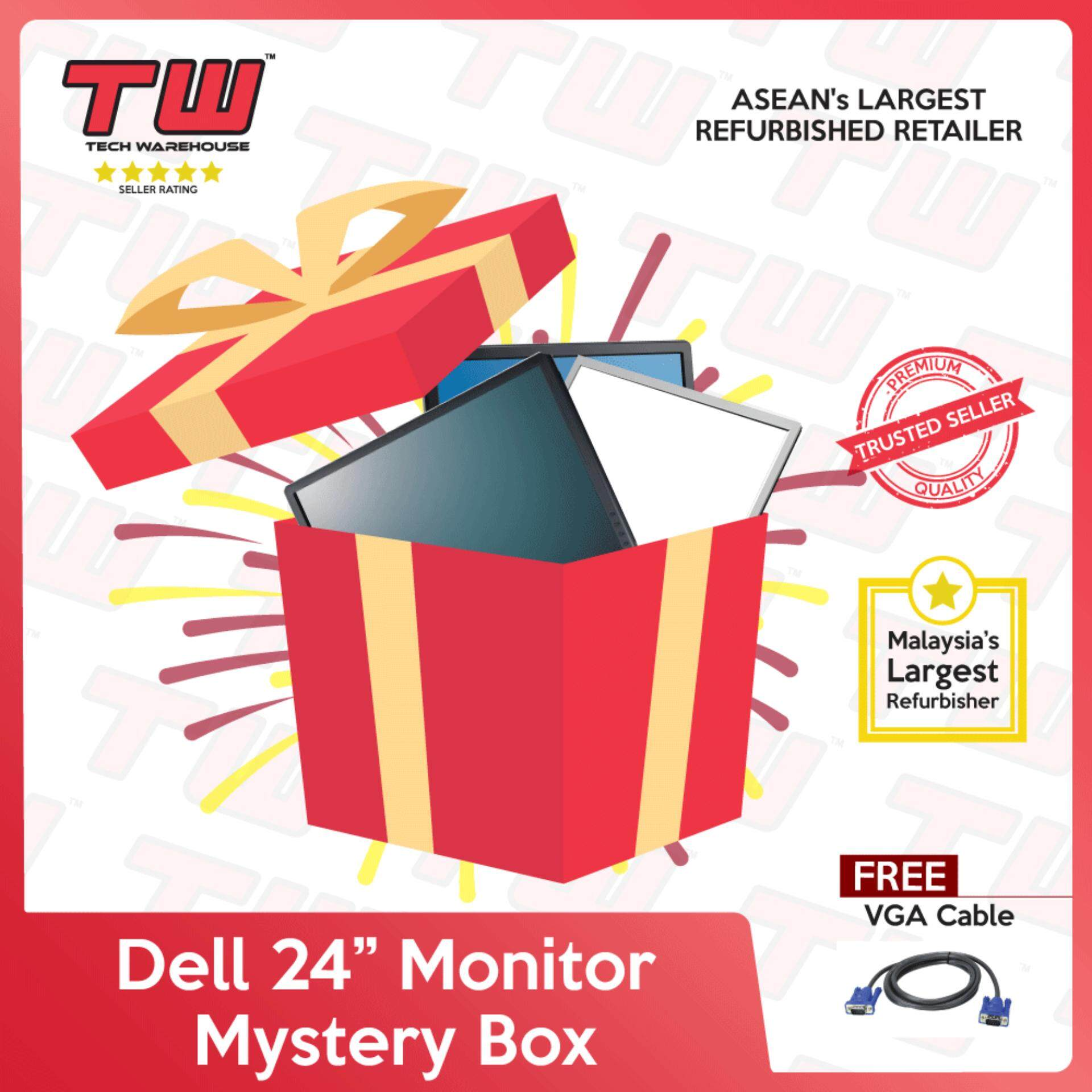 "Dell 24"" Monitor Mystery Box (Factory Refurbished) Malaysia"
