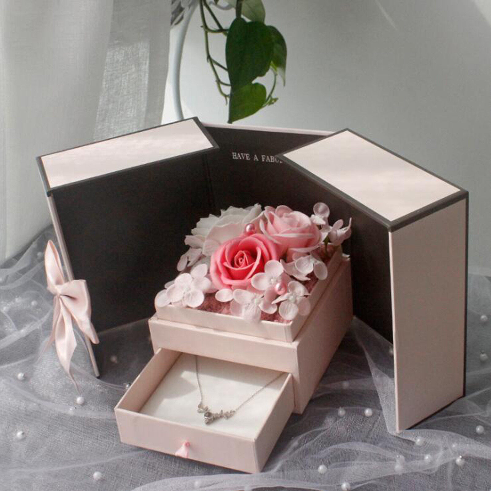 Valentines Day Gift Soap Rose Flower Gift Box Bouquet Jewelry Gift Box Valentine S Day Gift Box Gift For Girlfriend 1x Bouquet Gift Box Lazada Ph