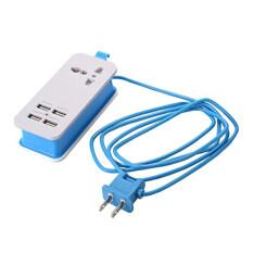 Ổ Cắm Điện USB Mini Baoblaze, Ổ Cắm Điện, 4 Cổng Sạc USB, Phích Cắm Chuẩn Mỹ