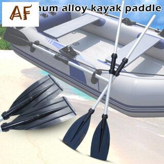 2 Chiếc Mái Chèo Thiên Văn Bằng Hợp Kim Nhôm Mái Chèo Tròn Kẹp Thuyền Kayak Bè, Mái Chèo Ống Lồng Mini thumbnail