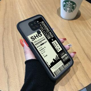 Ốp Honinga Dành Cho Xiaomi Redmi Note 9 Note 9S Note 9 Pro Ốp Lưng Ốp Lưng Điện Thoại Cứng Trong Suốt Mờ Phong Cảnh Thành Phố Vỏ Bảo Vệ Máy Ảnh Toàn Bộ Ốp Cứng Cho Bé Trai Dành Cho Bé Gái thumbnail