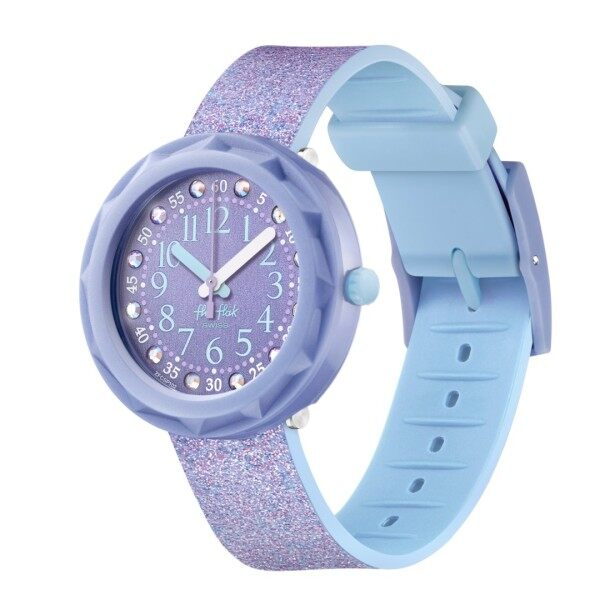 Flik Flak LILAXUS Girls Purple Watch Case size 36.70mm FCSP102 Malaysia