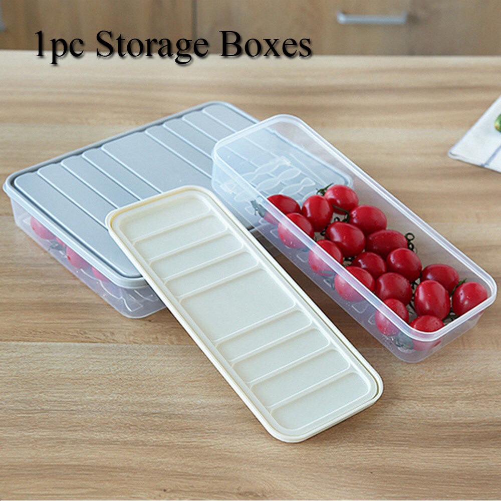 Refrigerator Spices Case Food Storage Boxes Dinnerware Grain Sealed Container
