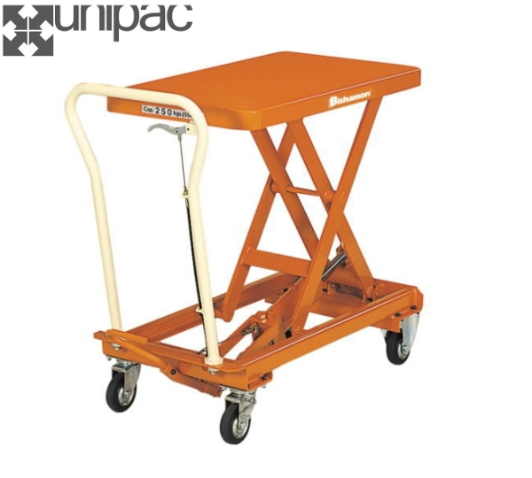 Bishamon Manually Operated Mobile Lift Table BX30(T) (For West Malaysia Only)