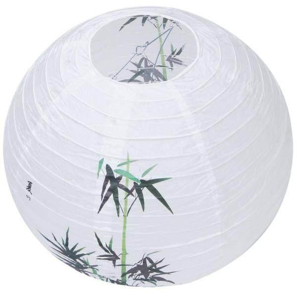 40cm Lamp Shade Paper Lantern Oriental Style Light Decoration Chinese Pattern:Bamboo