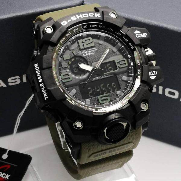 G Shock_Mudmaster 10Bar Dual Time Man Watch Malaysia