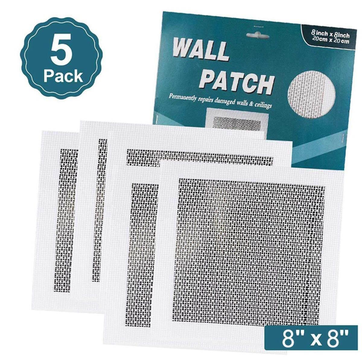 5 Pack Drywall Repair Patch Self Adhesive Wall Repair Patch Kit Heavy Duty Dry Wall Hole Repair Patch Lazada
