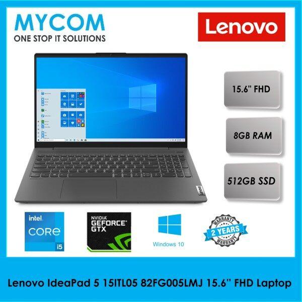 Lenovo IdeaPad 5 15ITL05 82FG005LMJ 15.6 FHD Laptop Graphite Grey (i5-1135G7, 8GB, 512GB SSD, MX450 2GB, W10) Malaysia