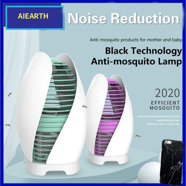 Aiearth-Đèn Diệt Muỗi Vật Lý USB Hoàn Toàn Mới Đèn Giảm Tiếng Ồn Tắt Tiếng Đèn Đuổi Muỗi Quang Xúc Tác An Toàn Và Bền Bỉ Áp Dụng Cho Phòng Ngủ Gia Đình