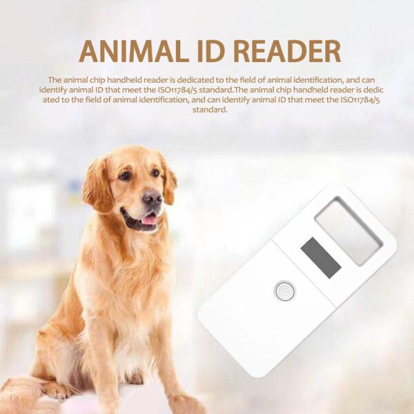 LF 134.2KHz Máy Quét Chip Động Vật Dog Cat ID Reader Cầm Tay Kỹ Thuật Số Chip Vật Nuôi Transponder