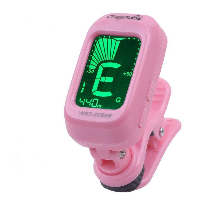 Folk Acoustic Guitar Tuner Violin Ukulele Bass Electronic Tuning Tuner Stringed Musical Instrument Accessories Guitar Bass Tuner Malaysia