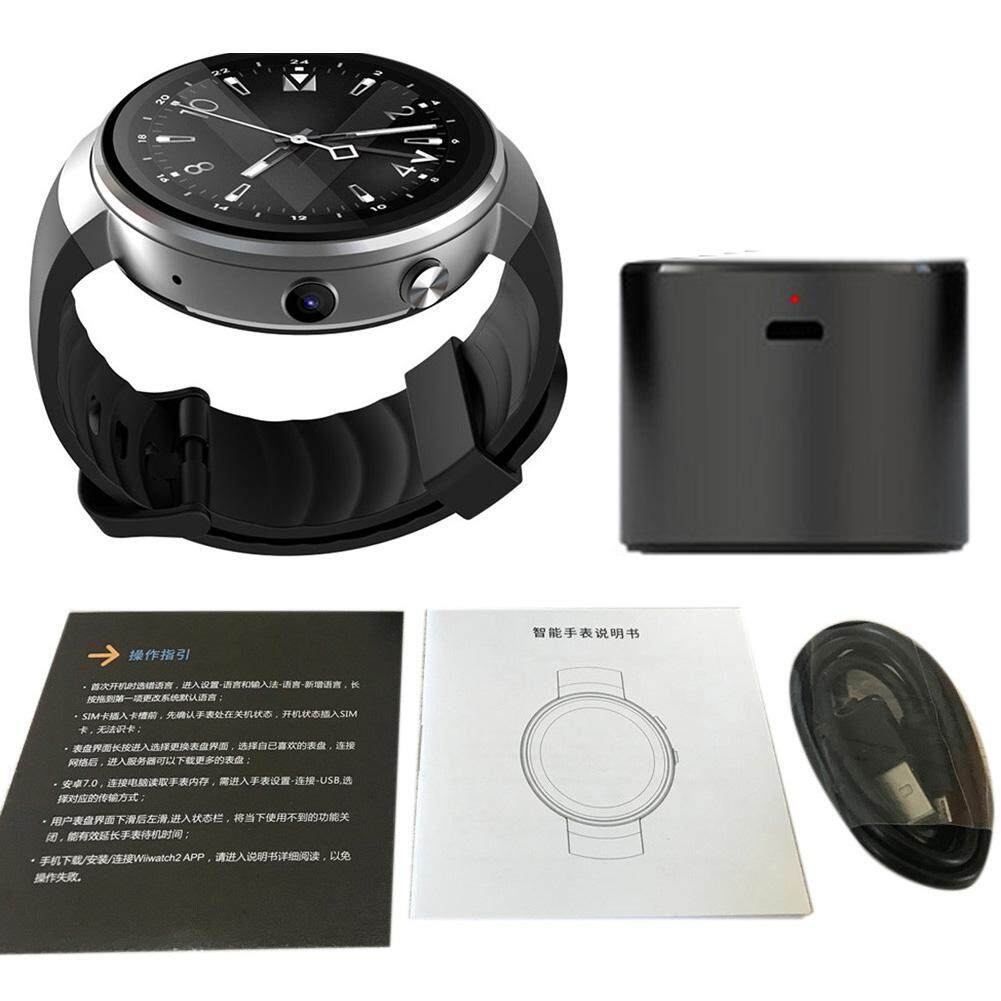 Z28 4G Jam Tangan Pintar Android 7.0 1G ROM + 16G Ram WIFI GPS 2 Juta Piksel Denyut Jantung Monitor Tidur untuk iPhone android Samsung Xiaomi 580 MAh