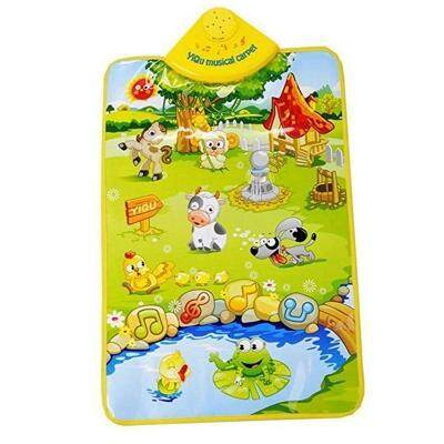 Music Hanging Carpet Happy Farm Pattern And Piano Playing Toy (multi-B) By Happy Life Enterprise