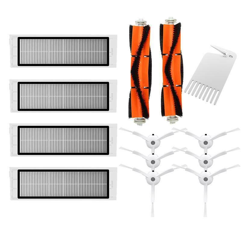 6X Side Brush +4X Hepa Filter + 2X Main Brush Suitable For Xiaomi Vacuum Roborock S50 S51 S55 S5