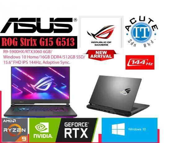 Asus ROG Strix G15 (2021) G513Q-MHN266T Gaming Laptop Malaysia