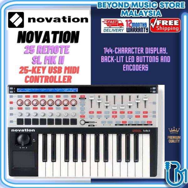 Novation 25 Remote SL - Mk II 25-key USB MIDI Controller (Novation 25 SL) Malaysia