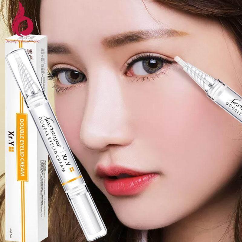 BeautyFashionWorld 5ml Waterproof Effective Fashion Eyes Care Eyelid Lift  Styling Cream Double Eyelids Glue Double Eyelid Cream Beautify Eyes Eye