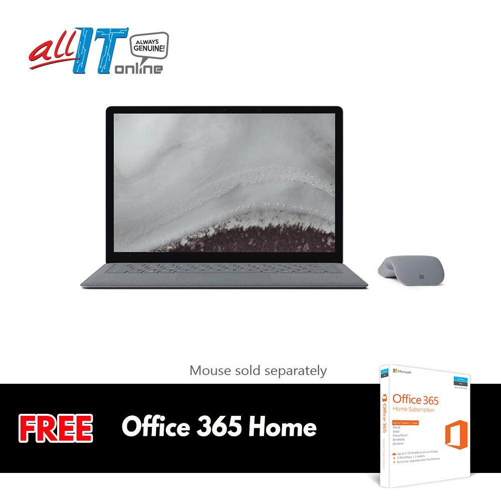 New Microsoft Surface Laptop 2 [Intel Core i5, 8GB RAM, 128GB SSD] - Platinum**FREE Office 365 Home Worth RM359** Malaysia