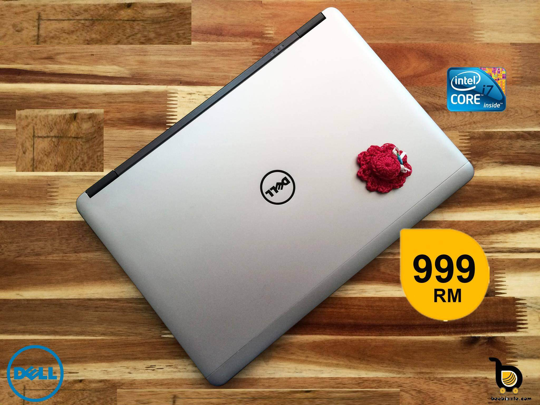 Dell Latitude E7240, Intel Core i7 Processor, 4GB RAM, 128GB SSD, 12.5 Inch Screen, WLAN, Bluetooth, Web Camera, HD Graphics, Windows Malaysia