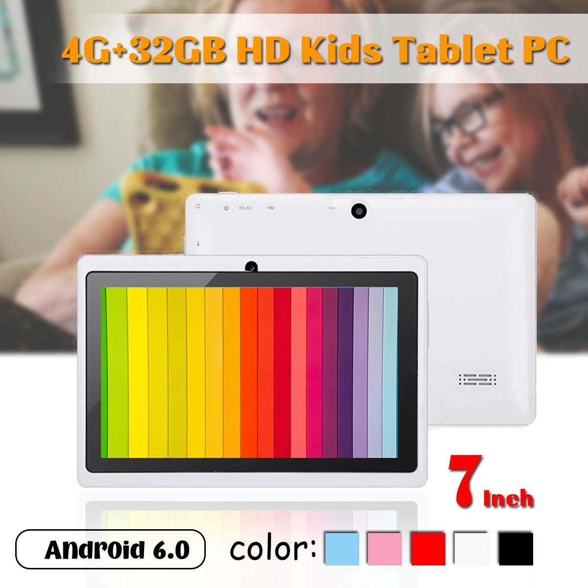 7'' HD Kids Tablet PC 4G+32GB Android 6.0 Quad Core 4000mAh Children Pad WIFI bluetooth Tab