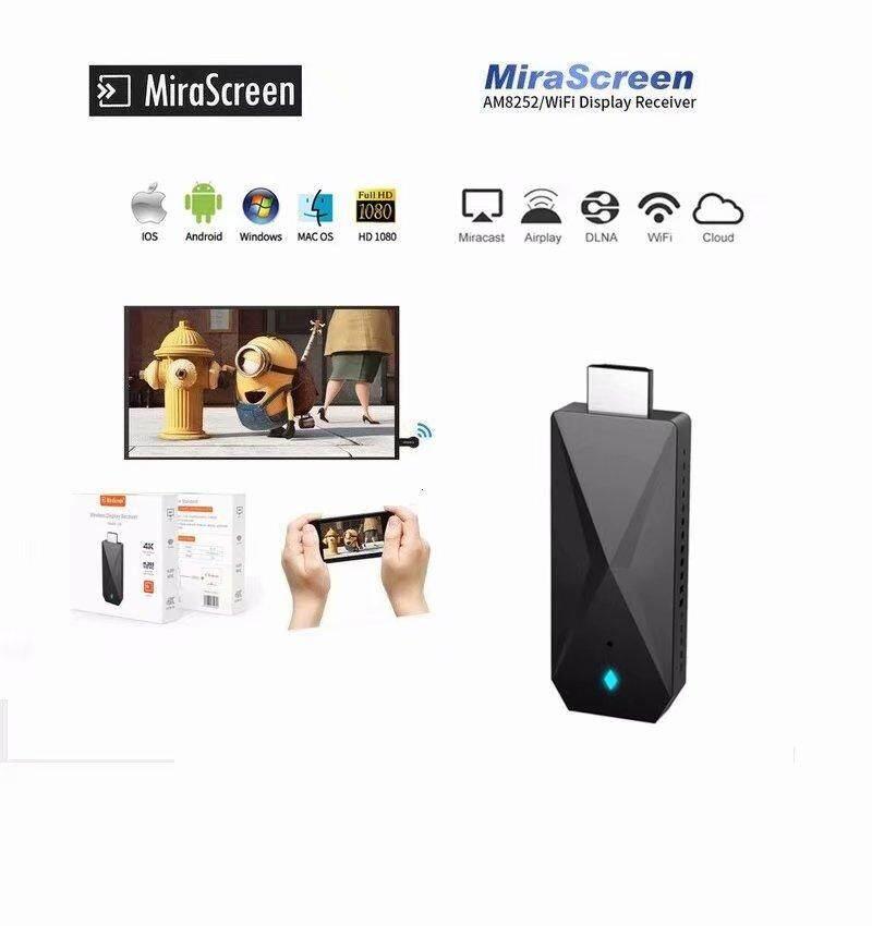 Mirascreen D3 4 K Không Dây 2.4 GHZ/5 GHZ HDMI Adapter, miracast AirPlay DLNA Gương sang HDMI HDTV Máy Chiếu, Điện Thoại Thông Minh/Máy Tính Bảng/Laptop sang HDMI, wifi Display Dongle 1080 P HD Adapter