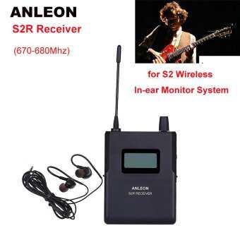 ANLEON S2Receiver สำหรับ S2 ไร้สายส่วนบุคคลหูฟังมอนิเตอร์ System670-680Mhz