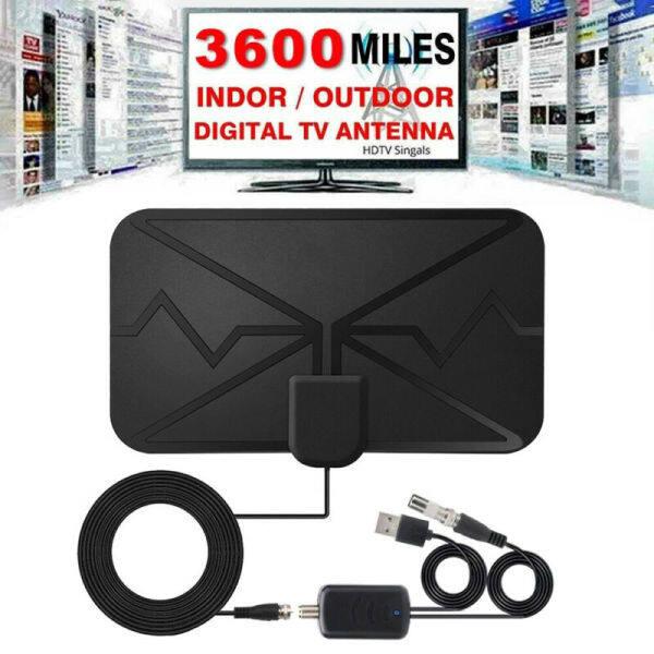Bảng giá Ăng Ten TV Emilyo 3600 Dặm, Ăng Ten TV Khuếch Đại Kỹ Thuật Số Trong Nhà HDTV Mới Nhất 4K 1080P ~ Phong Vũ