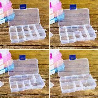 BTTUM Pills Container Makeup Organizer Có Thể Tháo Rời Nhựa Trang Sức Hộp Đa Chức Năng Lưu Trữ Trường Hợp 10 Lưới 1 Cái thumbnail
