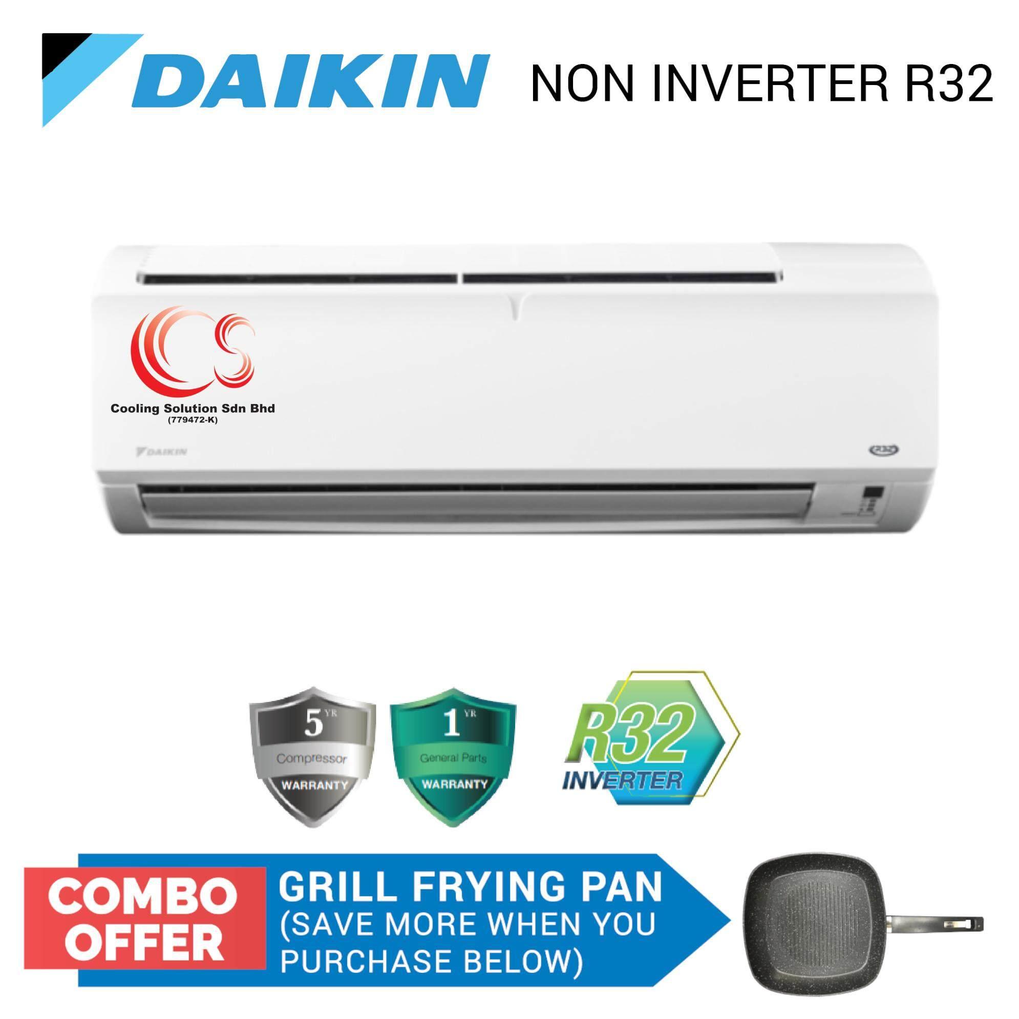 DAIKIN Air Conditioner Non Inverter R32 1 0HP FTV28P