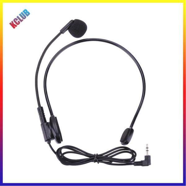 Cable Head-mounted Headset Microphone Flexible Wired Boom Amplifie Singapore