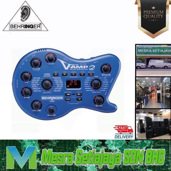 Guitar Amplifier Virtual with Tube Simulation and Multi-Effects Processor Original Product Ready Stock!!! Malaysia