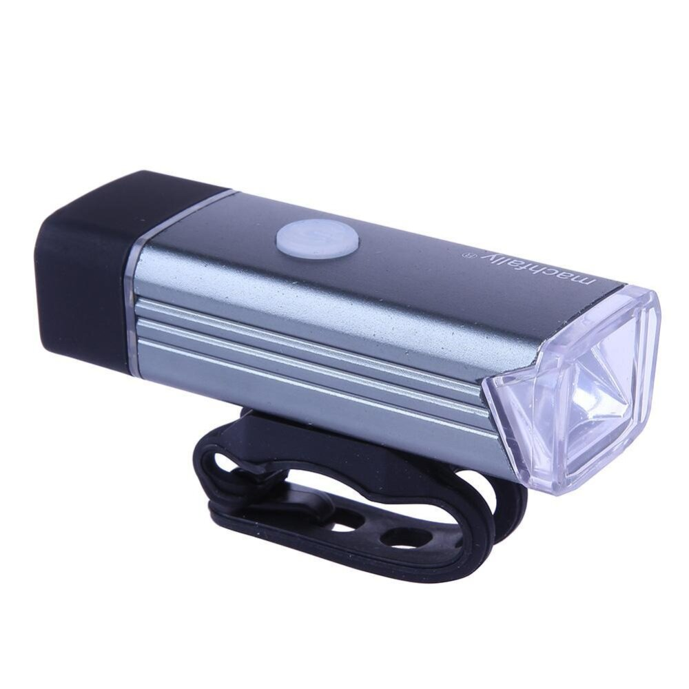 Aluminum Alloy LED Lamp USB Rechargeable Bike Front Light Torch High Quality