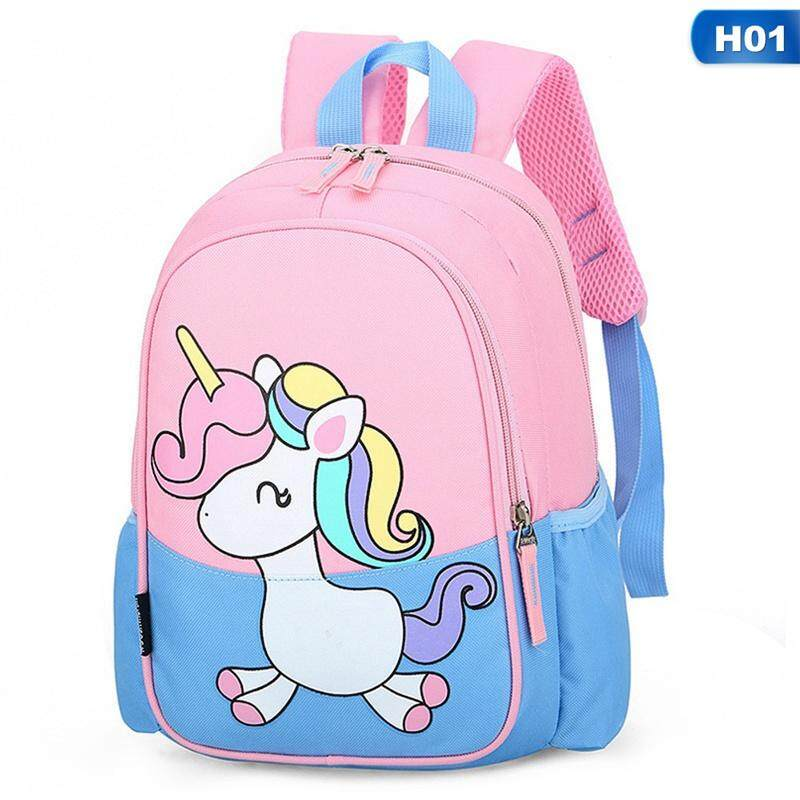 BZY Cute Unicorn Backpack Kids Chilren Backpack Back To School Bag